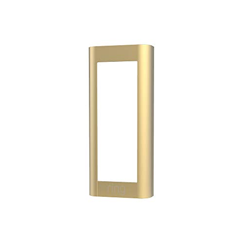 Ring Video Doorbell Pro 2 (2021 release) Faceplate - Brush Gold