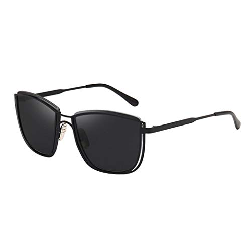 Optische Sonnenbrille Coole Damen beliebte Brillen Unisex Classic Sonnenbrillen Sommer tragen(Schwarz,free)