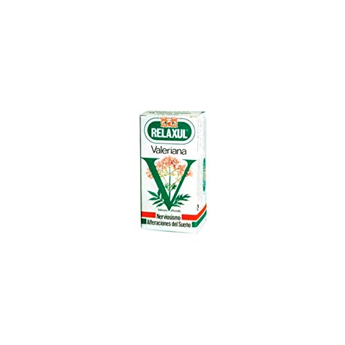 RELAXUL Valeriana. Relaxing Based on Valeriana Officinalis. Box of 48 Capsules