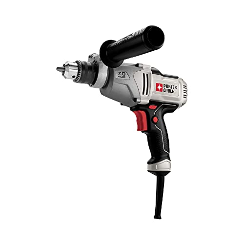 PORTER-CABLE Corded Drill, Variable Speed, 7-Amp, 1/2-Inch (PC700D)