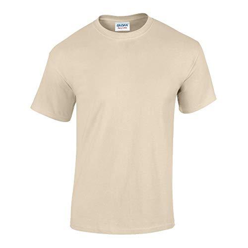 Gildan - Heavy Cotton T-Shirt '5000' / Sand, L