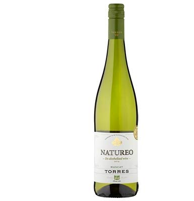 VINO NO ALCOHOLICO, Natureo, Familia Torres, vino blanco (caja de 6x75cl)