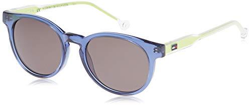 Tommy Hilfiger TH 1426/S NR Gafas de sol, Blue Crystal, 48 Unisex-Adulto