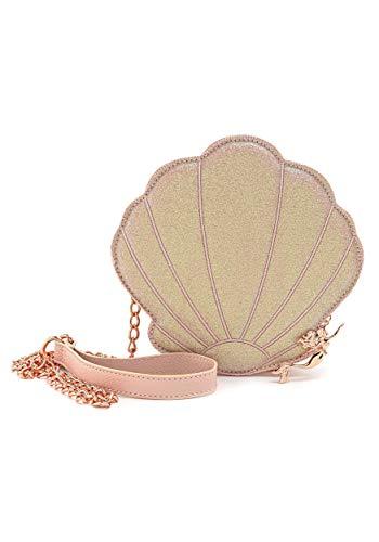 Loungefly Women's Disney Rose Gold Little Mermaid Shimmer Shell, One Size
