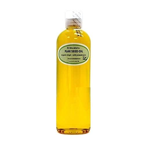 Flax Seed Oil Organic Pure 24 Oz