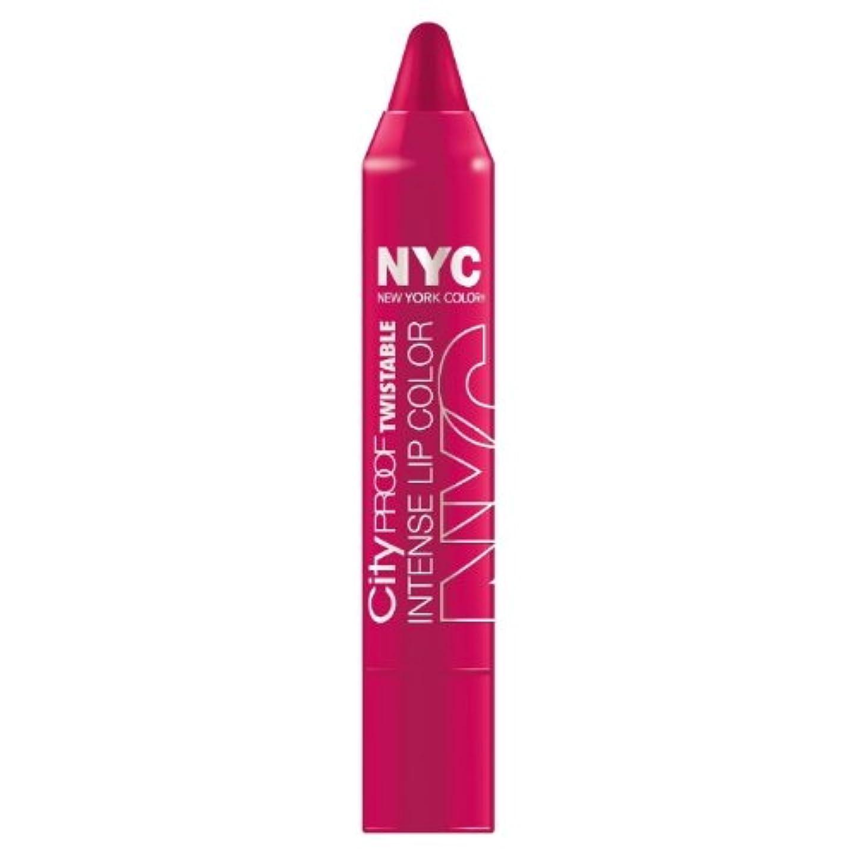 奇妙なおいしい中級(6 Pack) NYC City Proof Twistable Intense Lip Color - Ballroom Blush (並行輸入品)