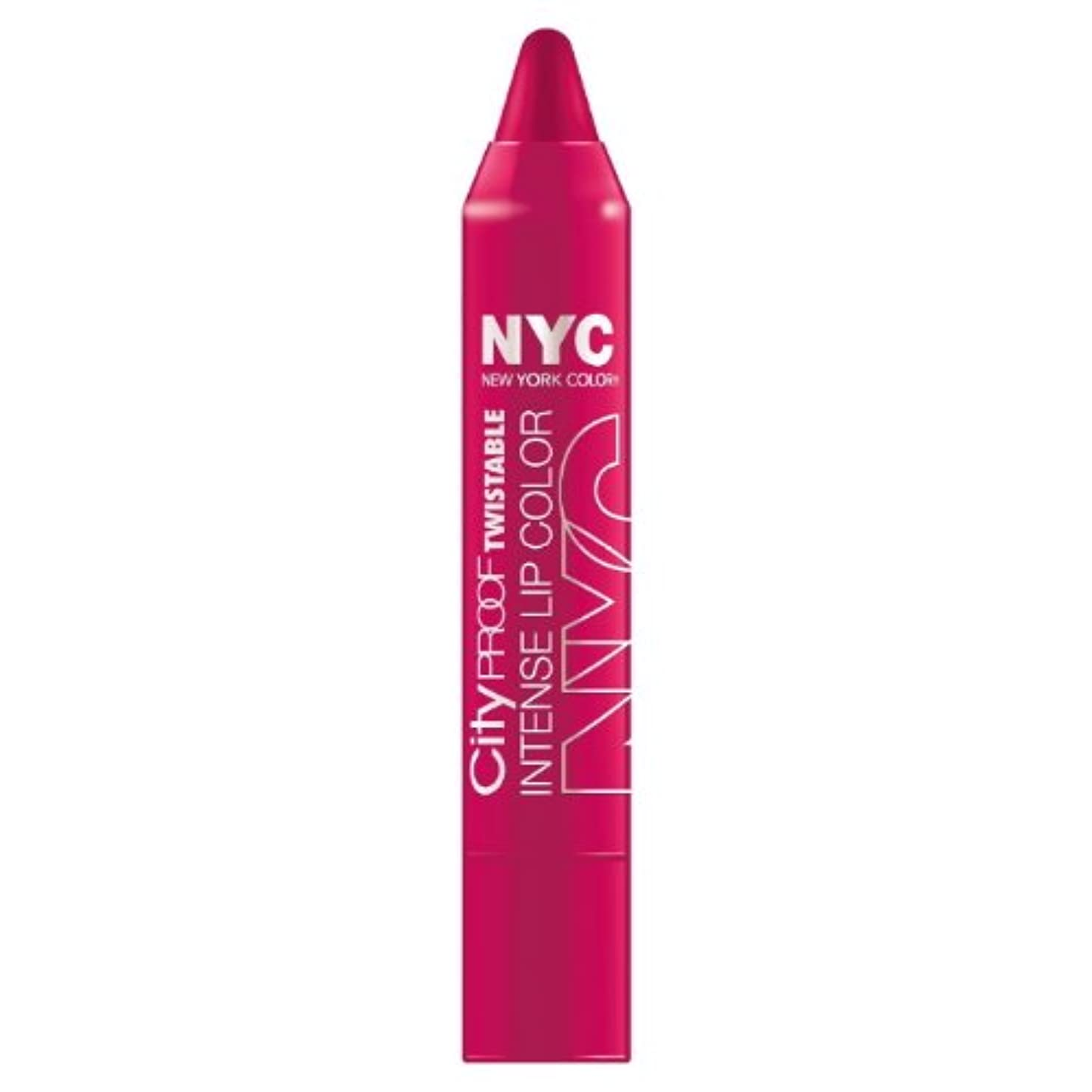 実業家返還小道(6 Pack) NYC City Proof Twistable Intense Lip Color - Ballroom Blush (並行輸入品)