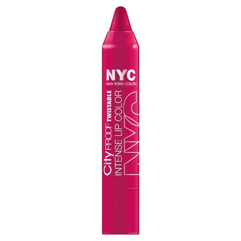能力値アスリート(6 Pack) NYC City Proof Twistable Intense Lip Color - Ballroom Blush (並行輸入品)