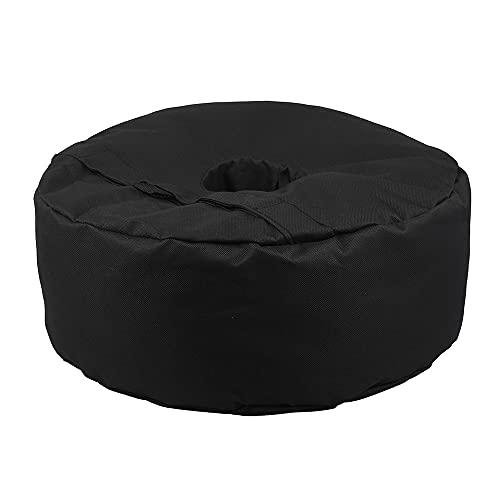 Beenle-Icey - Borsa da sole per ombrellone, piedi parasole, borsa di peso rotondo per tenda da esterno portatile, base di supporto per sabbia (grande)