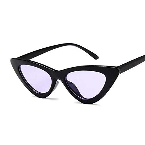 ERIOG Damen Mode Katzenaugen Sonnenbrille Integriertes UV Cat Eye Sunglasses Damenbrillen Herrenbrillen Frauen Retro Vintage Brille Nachtsichtbrille Eyewear Travel Sonnenbrillen