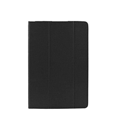 ZJYSM Cubierta de la Caja del Soporte del Pliegue de Cuero PU para la Tableta de Activos de 10.8 Pulgadas Chuwi Hi9 (Color : Black)