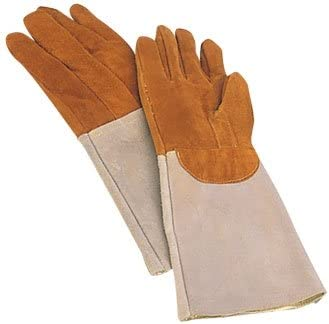 2 x Matfer Bakers Oven Gloves 買取 pa Leather Resistant トラスト Mitts. Heat