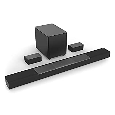 VIZIO M-Series 5.1.2 Home Theater Sound Bar with Dolby Atmos and DTS:X