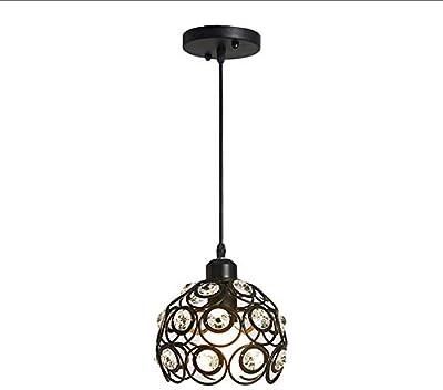 Amazon.com: LEDMOMO - Lámpara de techo de cristal creativo ...