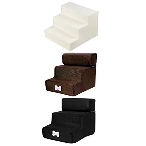 Yowablo Neue 3-Stufen-Mesh-Pet-Kombination mit Rutschfester Unterseite und Leiterabdeckung (Falte Größe:30 * 35 * 30cm,2D)
