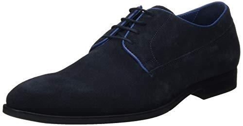 Geox Herren U New Life B Derbys, Blau (Navy C4002), 43 EU