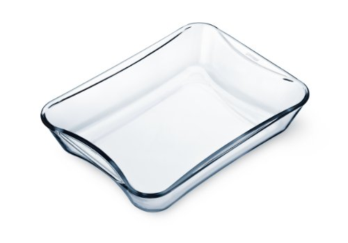 Simax Glassware 7216 Auflaufform, rechteckig, 2,5 l