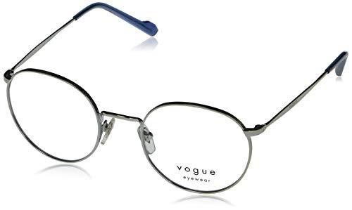 Vogue eyewear occhiali da vista VO4183 323 48-21 argento metallo phantos