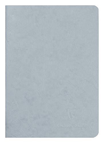 Clairefontaine 733165C Linea Age Bag Quaderno Spillato A5 96P Righe Grigio 90G