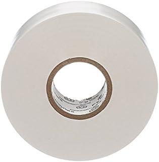 Gocableties - Cinta aislante de PVC (33 x 19 mm), color blanco
