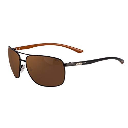 Berkley Ber002 Sunglasses Ber002 Polarized Fishing Sunglasses, Matte Black/Copper