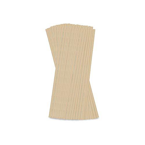 BIOZOYG Cannucce da Bere di bambù Senza plastica 23 cm Ø 0,6 cm I Tubini da Bere per succhi di Frutta e frullati I Cannucce da Bere biodegradabili per Il Latte I Cannucce da Cocktail 5000 Pezzi