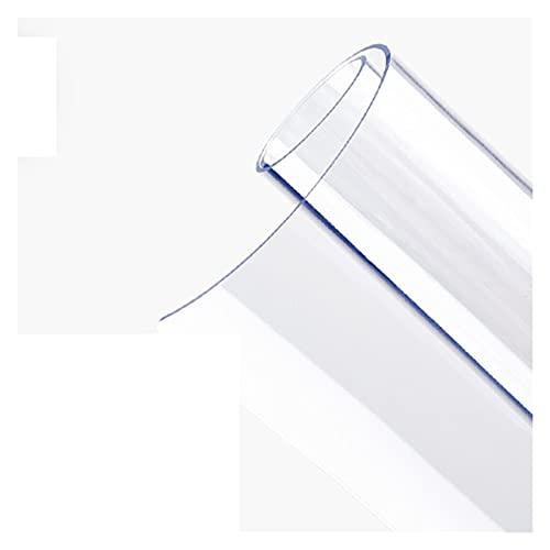 AMSXNOO Mantel Protector Mesa Cristal, Cojín De Plástico De Vinilo PVC Personalizado a Prueba De Fugas a Prueba De Polvo, Tapete De Escritorio Transparente para Mesa De Café, Tocador