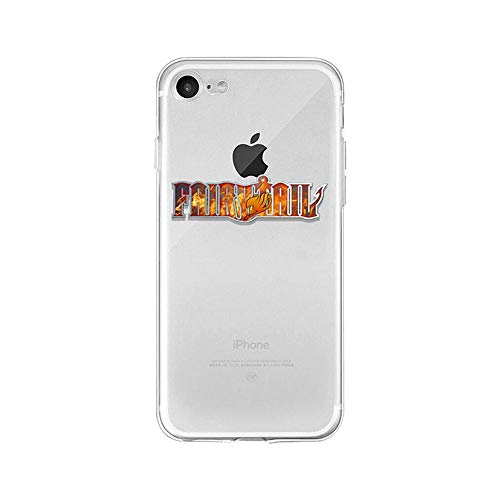 LXXTK Anime Fairy Tail TPU Soft Funda iPhone Case A16 For Funda iPhone 5 5S SE