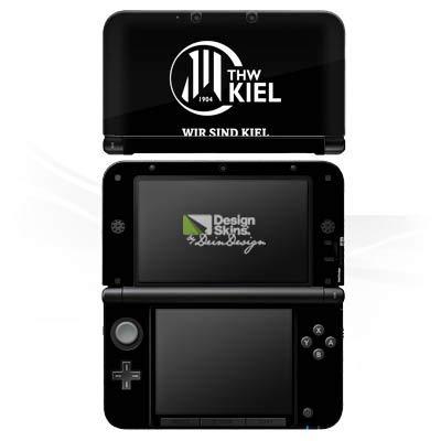 DeinDesign Skin kompatibel mit Nintendo 3 DS XL Aufkleber Sticker Folie THW Kiel Handball Fanartikel