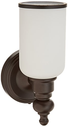 Elk Lighting 11590/1 Bristol Collection 1 Bath Light, Oil Rubbed Bronze