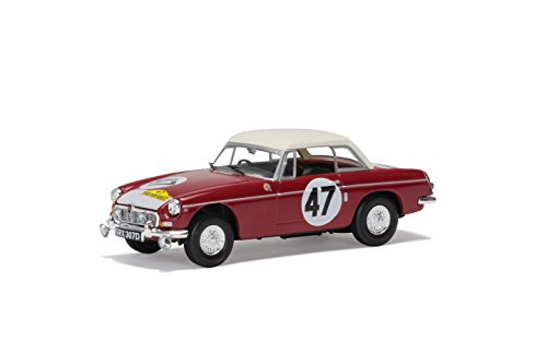 Corgi Modèle V10710 British Motor Heritage MGB 1966 Marathon de la Route Outright Winner Hedges and Vernaeve
