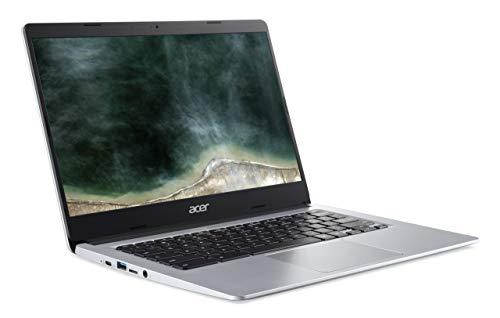 Acer Chromebook 314 (14 Zoll Full-HD matt, 19,7mm flach, extrem lange Akkulaufzeit, schnelles WLAN, MicroSD Slot, Google Chrome OS) Silber (DE Tastatur: QWERTZ) - 4