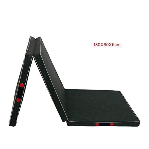 Yunmeng Gymnastiekmat voor kinderen, 100 cm, opvouwbaar, praktisch voor volwassenen, gymnastiekmat