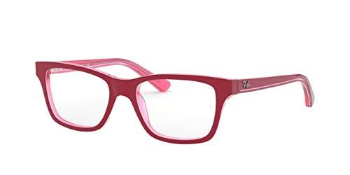Ray-Ban RY1536-3761-48 Gafas, Rosa/Rot, 48 para Hombre