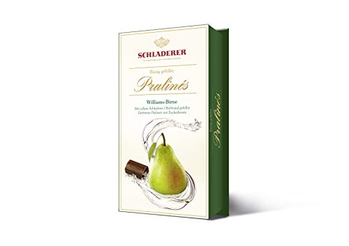 Schladerer Pralines Williams-Birne 127 g, 2er Pack (2 x 127 g)