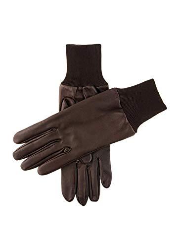 Braun Royale Rechte Hand Leder Schießen Handschuh - Klein / Mittelgroß von Dents
