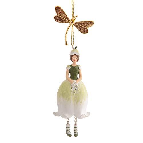 ROSEMARIE SCHULZ Heidelberg Maiglöckchen Elfen-Feefigur zum Hängen Flower Fairy Figur Dekofigur Skulptur