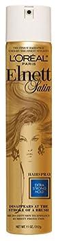 Loreal Elnett Satin Hairspray Xtra Strong Hold 11oz  2 Pack