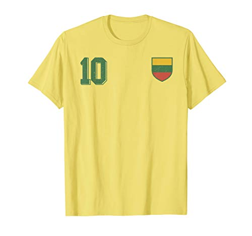 Lithuania or Litauen Fußball or Football Trikot T-Shirt