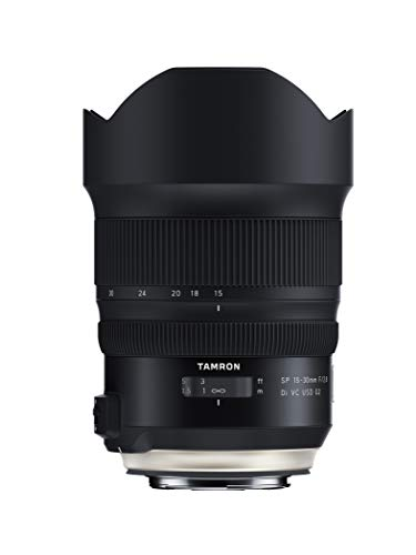 Tamron SP 15-30mm F/2.8 Di VC USD G2 for Canon Digital SLR Camera (Tamron 6 Year Limited USA Warranty)