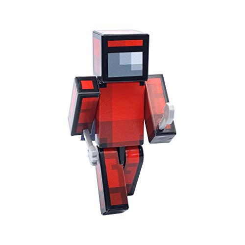 EnderToys Sus Astronaut Red Action Figure Toy, 4 Inch Custom Series Figurines