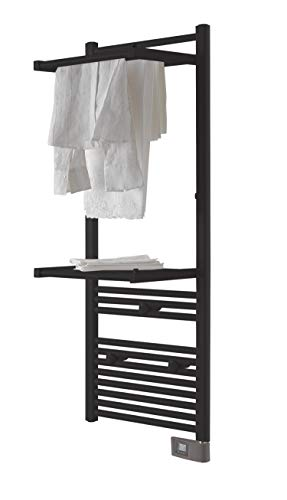 DELTACALOR - Toallero eléctrico de baño Papillon 2, 500 W, (143 x...