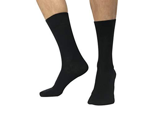 Amadeos Socken Casual Schwarz Größe: 41/46 6er-Pack