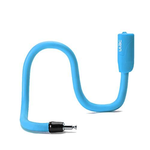 自転車 鍵 ロック パスワードロック 変形 のひねり ワイヤー 防盗 携帯便利