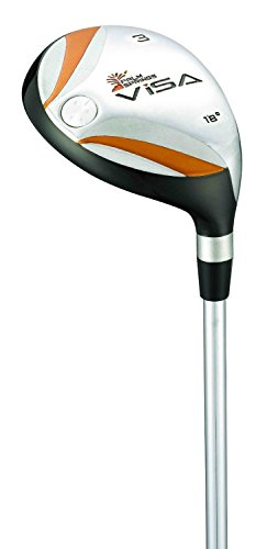 Palm Springs Golf Club Men's Right Hand Visa #4 21-Degrees Hybrid (Regular)