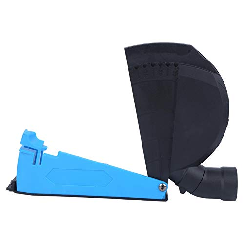 Tapa de esmerilado, accesorios para campana extractora de corte, protección de plástico, ajuste de profundidad para amoladora angular de aspiradora