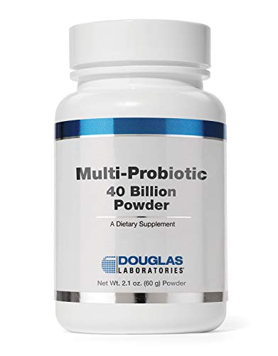 Douglas Laboratories - Multi-Probiotic 40 Billion Powder - Provides Probiotics and Prebiotics to Support Gut Microflora and Immunity - 2.1 Ounces