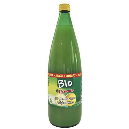 SIRACUSE - Jus De Citron Bio 1L - Lot De 3