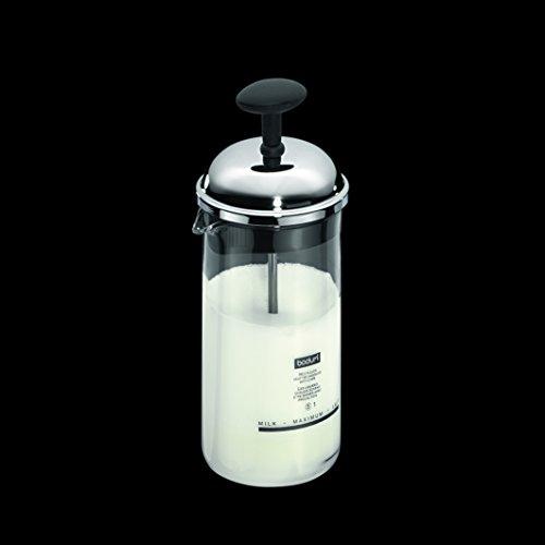 BODUM ボダム CHAMBORD シャンボール ミルクフローサー ステンレスリッド 80ml 【正規品】 1963-01