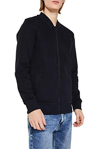 edc by ESPRIT Herren 129CC2J006 Sweatshirt, Schwarz (Black 001), Large (Herstellergröße: L)